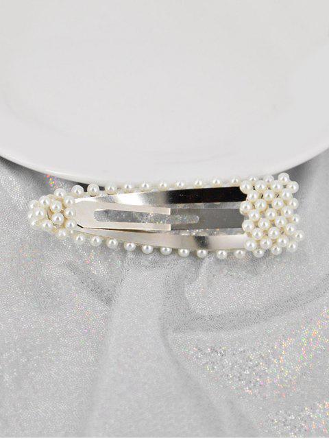 Epingle à Cheveux en Fausse Perle 8 cm - Multi-E  Mobile