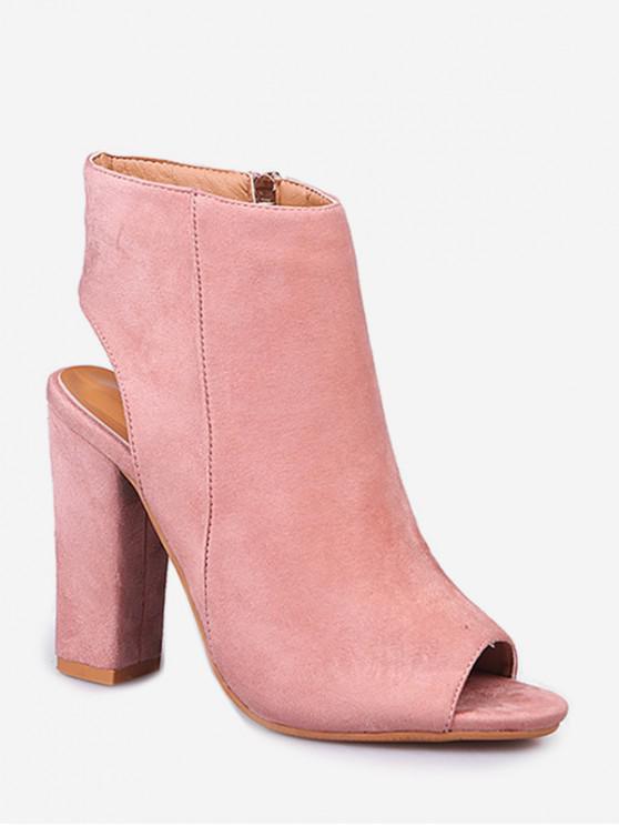 7b7affd0d81 Peep Toe Slingback High Heel Sandals