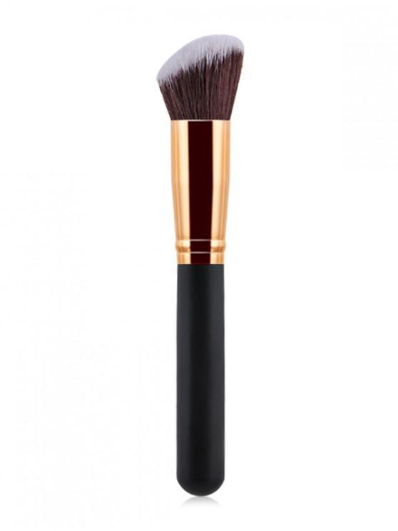 Pincel para sombra de maquillaje en polvo - Multicolor-C