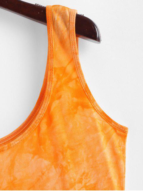 Robe Fourreau Teintée à Col U - Jaune d'Abeille S Mobile