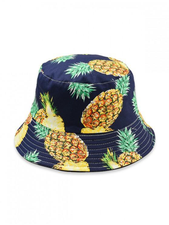 sale Fruit Pattern Bucket Hat - GREEN