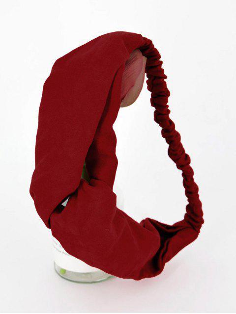 Bandeau Eastique Décoration en Couleur Unie - Rouge Vineux  Mobile