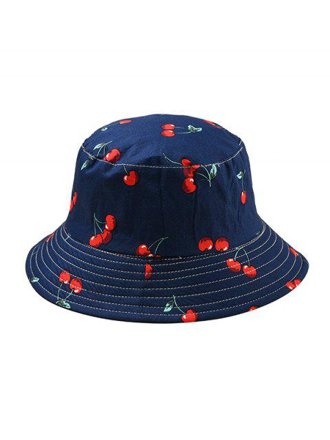 Шляпа Принт фрукта - Синий  Mobile