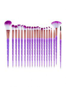 20Pcs Shadow Powder Makeup Tool Brush Set - جميل بيربل