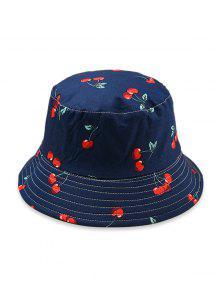 قبعة دلو نمط الفاكهة - طالبا الأزرق