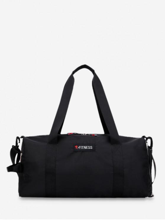 hot Large Capacity Casual Tote Bag - BLACK