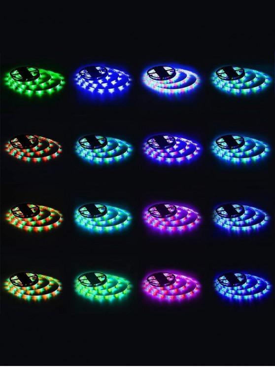 5 أمتار ضوء قطاع RGB مع التحكم - أبيض