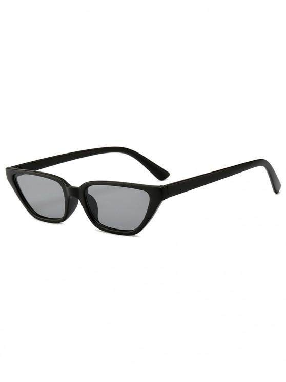 buy Stylish Ins Style Irregular Shape Sunglasses - BLACK