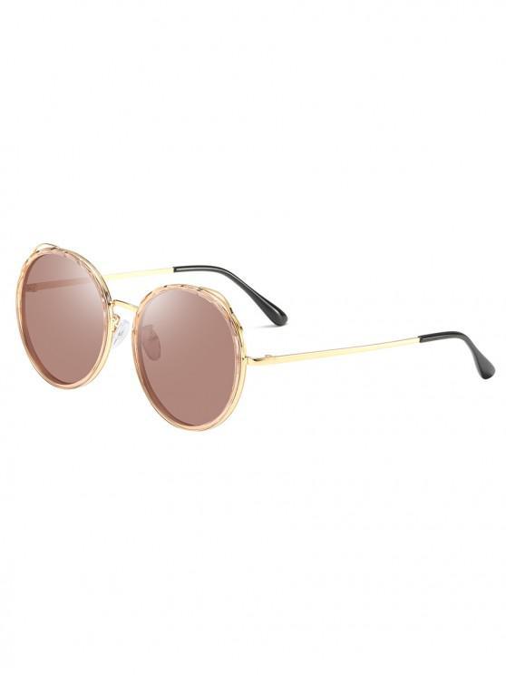 best Round Driving Polarized Sunglasses - BLONDE
