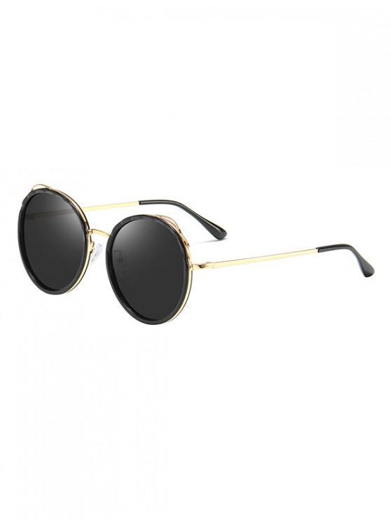 best Round Driving Polarized Sunglasses - BLACK