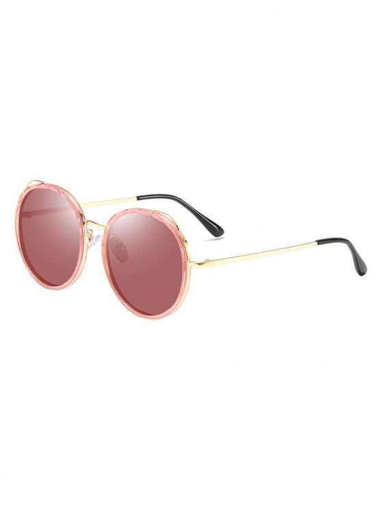 sale Round Driving Polarized Sunglasses - TULIP PINK