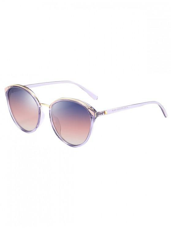 Gafas de sol polarizadas de mariposa - Color de malva