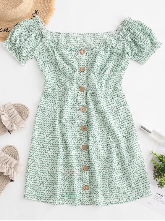 ZAFUL Off Mini abito con frange sul retro - Bianca Latte M