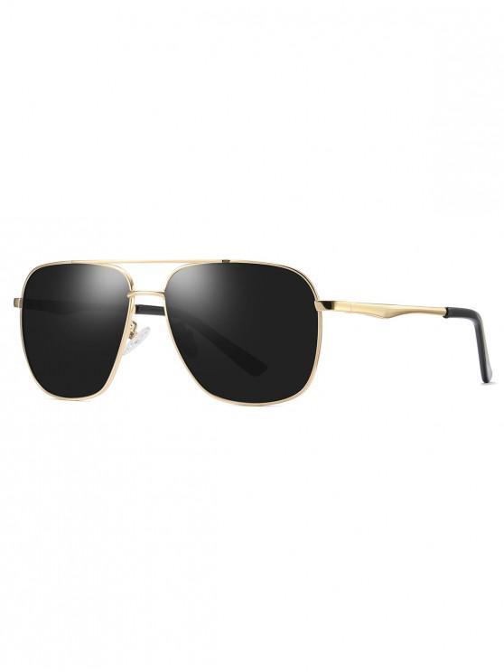 Gafas de sol polarizadas con montura de metal - Gris Pardo