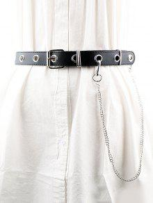 ca92a82b3ff Punk Pin Buckle Holes Chain Belt