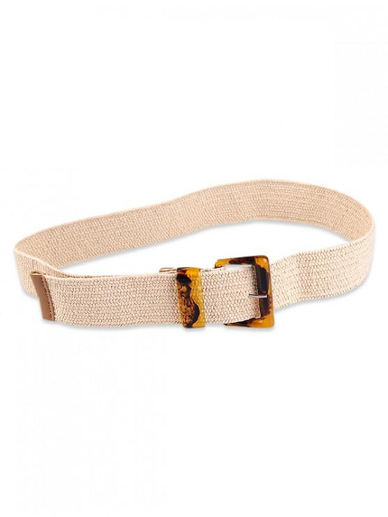 outfits Beach Style Buckle Belt - APRICOT