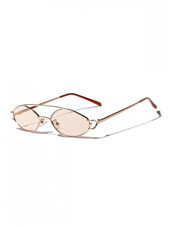 نظارة شمسية ريترو - خنزير وردي