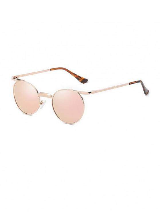 shop Brief Round Polarized Sunglasses - SAKURA PINK