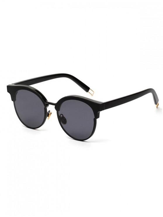 نظارات شمسية مصنوعة من البلاستيك - أسود كالفحم