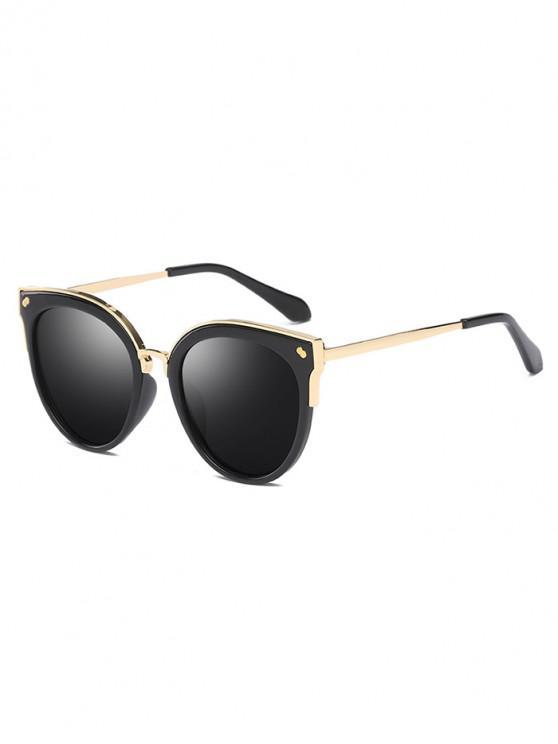 fashion UV Protection Polarized Sunglasses - BLACK