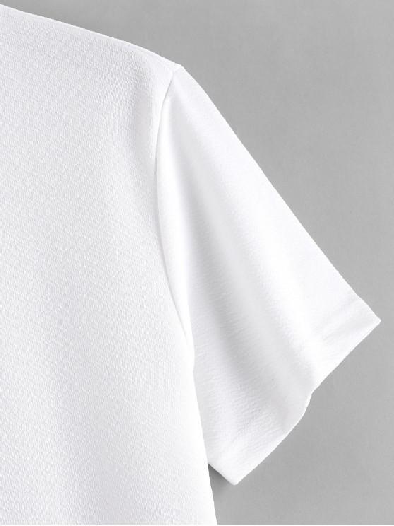 ShortsBlanc Lettre Combinaisons Numéro T Graphique S shirt Et Imprimé wOiXkluTPZ