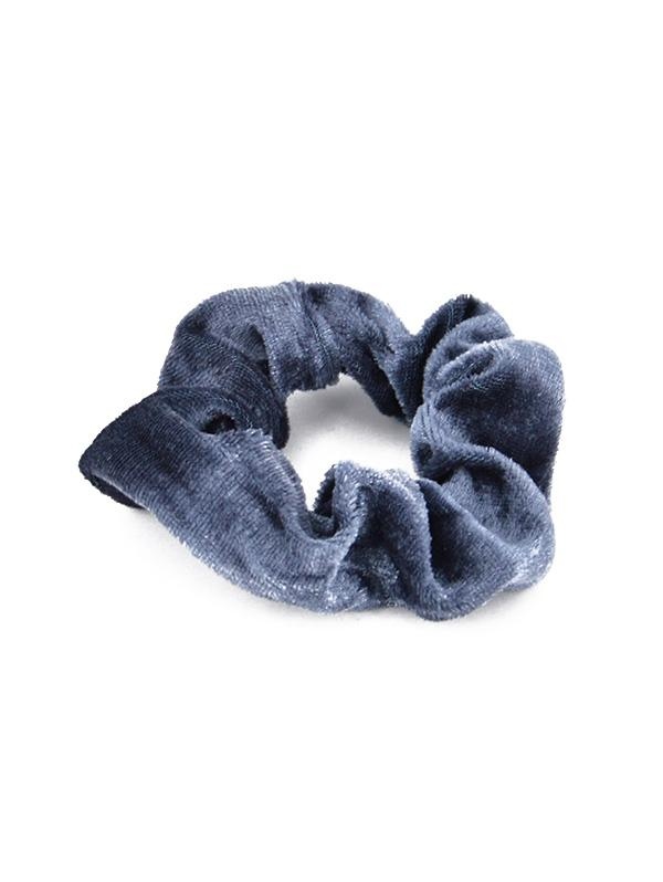 10 Piece Solid Color Elastic Hair Ring Scrunchies