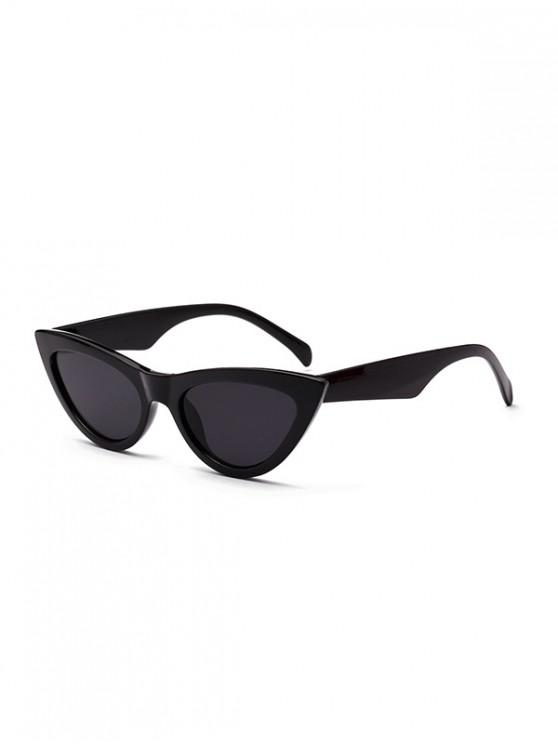 lady Chic Stylish Punk Sunglasses - BLACK