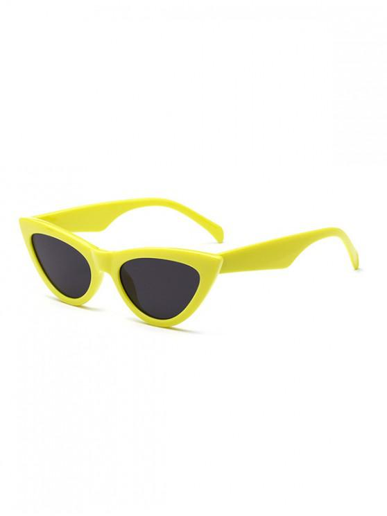 fashion Chic Stylish Punk Sunglasses - GOLDENROD