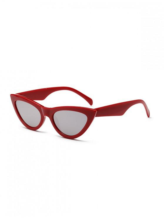 Elegantes gafas de sol con estilo punk - Rojo de Valentín