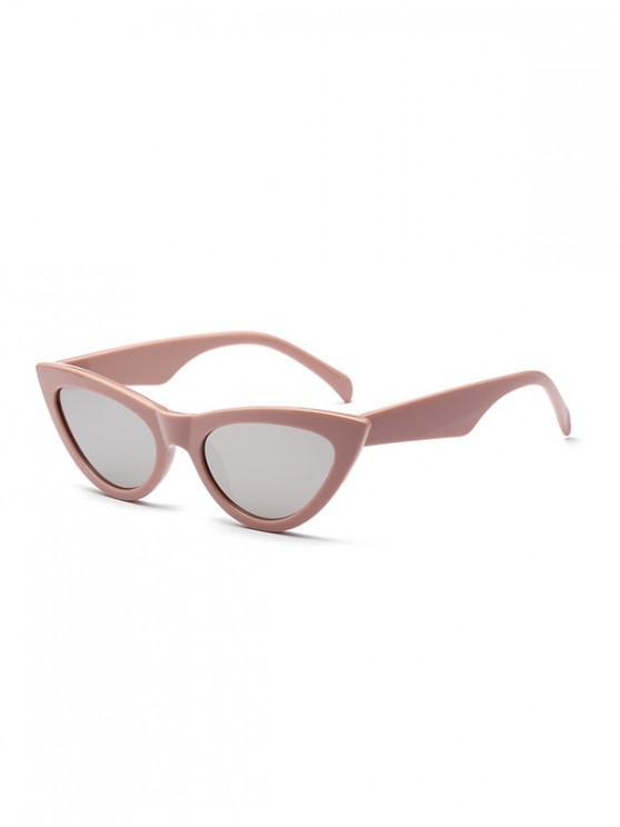 Elegantes gafas de sol con estilo punk - Rosado