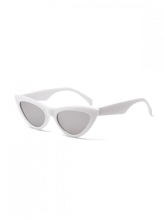 online Chic Stylish Punk Sunglasses - WHITE
