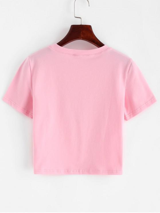 T Imprimé Graphique À Court Pâle AngelRose S shirt S5A34LjcRq