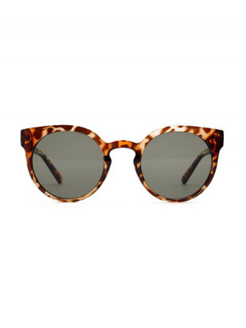 outfits Retro Round Chic Sunglasses - LEOPARD  Mobile