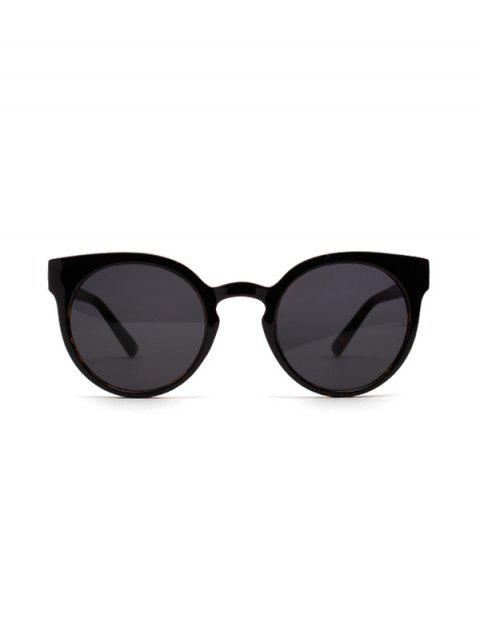 affordable Retro Round Chic Sunglasses - GRAY  Mobile