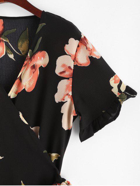 Mini-Robe Fleurie à Volants - Multi M Mobile
