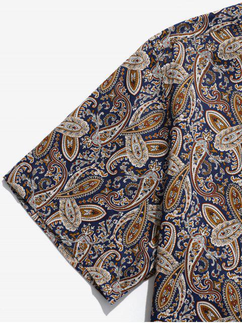 Camisa con estampado paisley - Multicolor 2XL Mobile