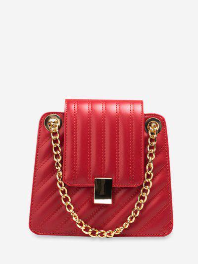 Image of Leisure Solid Color Design Crossbody Bag