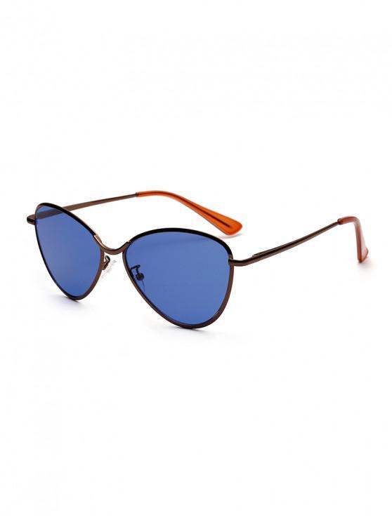 نظارات شمسية من المعدن - ازرق غامق