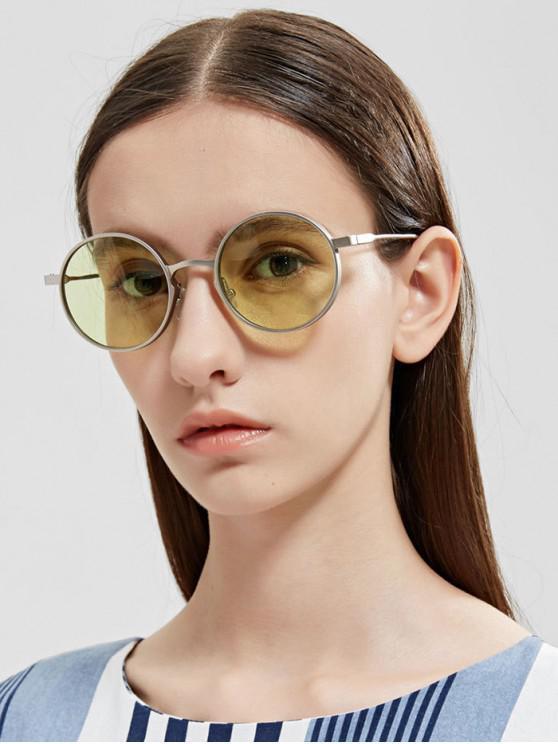 new Round Vintage Anti UV Sunglasses - SEA GREEN