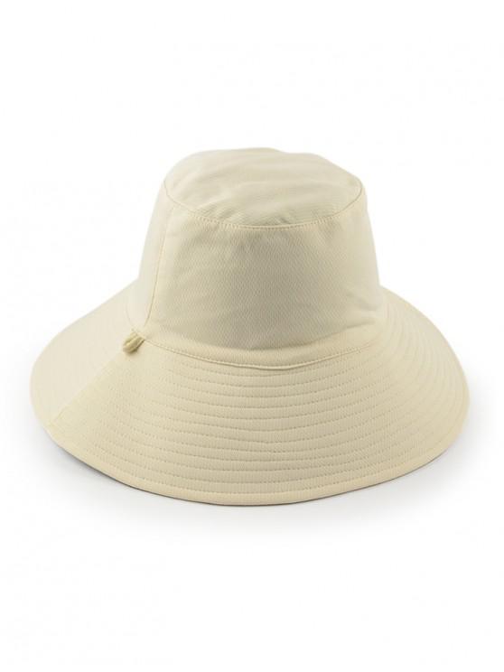 Sombrero de sol de cubo doble cara - Crema de Cristal Regular