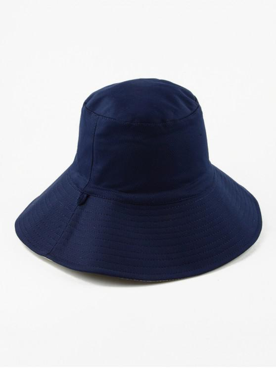 Sombrero de sol de cubo doble cara - Cadetblue Regular