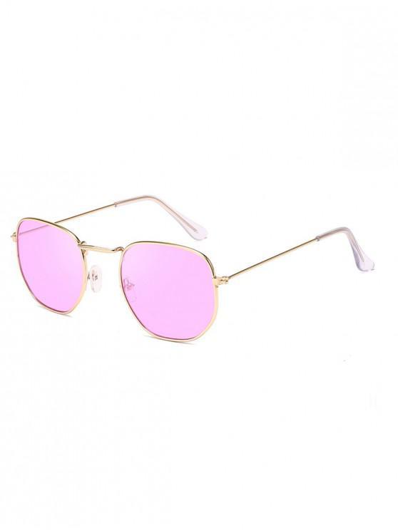 แว่นตากันแดดกรอบโลหะโบราณ Vintage - Tyrian สีม่วง