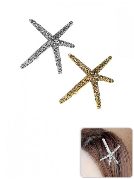 PiècesMulti En Forme Mer À D'etoile Brillante a Cheveux Poignée 2 De ZOkXPui