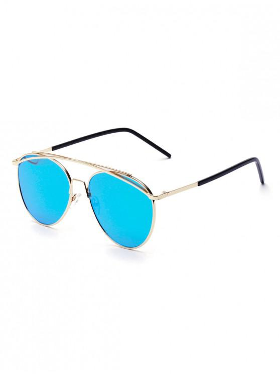 Gafas de sol estilo metal arc bar - Azul