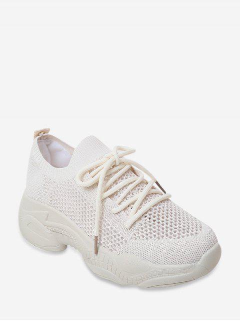 Baskets Décontractées Décoration Evidées - Blanc EU 40 Mobile