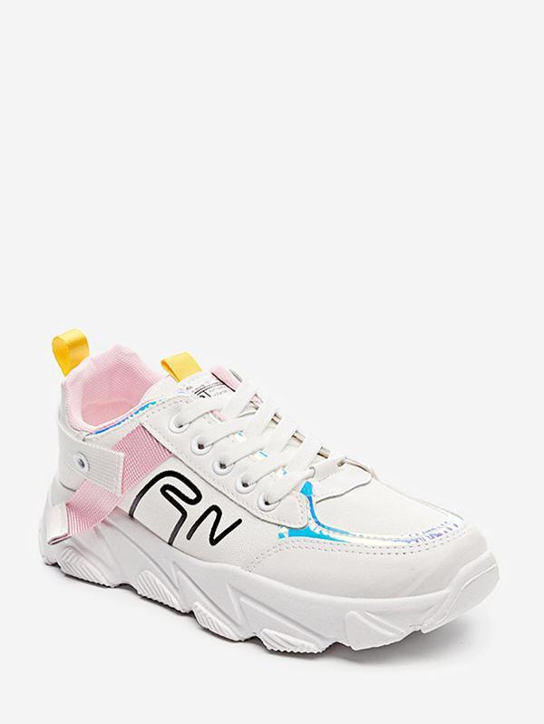 Lace-up Casual Piattaforma di Sport scarpe da ginnastica