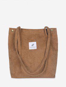 حقيبة قماش بسيطة - البني الفاتح