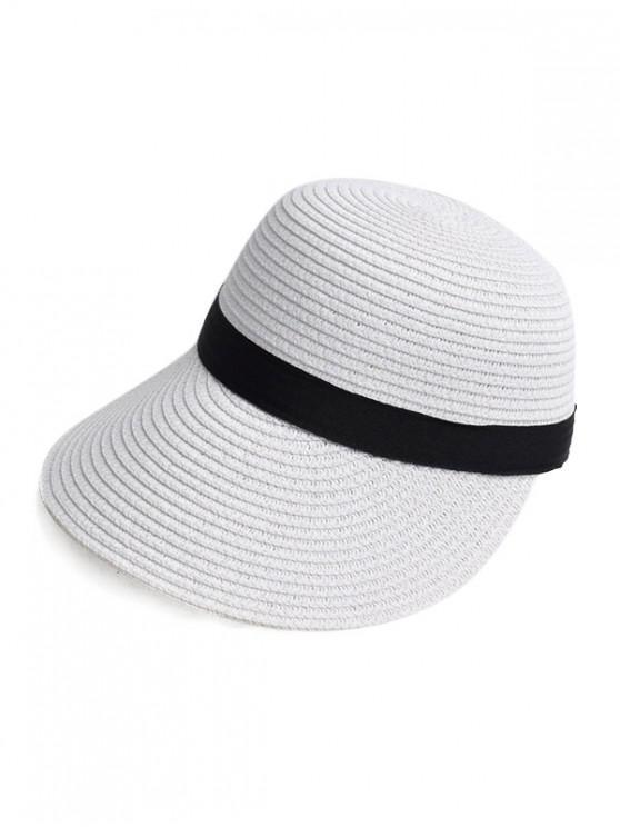 c9cb0f04376714 19% OFF] [NEW] 2019 Straw Sun Hat In WHITE | ZAFUL