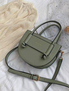 961d154344de98 39% OFF] [NEW] 2019 Leather Semi-circle Shape Shoulder Bag In SEA ...