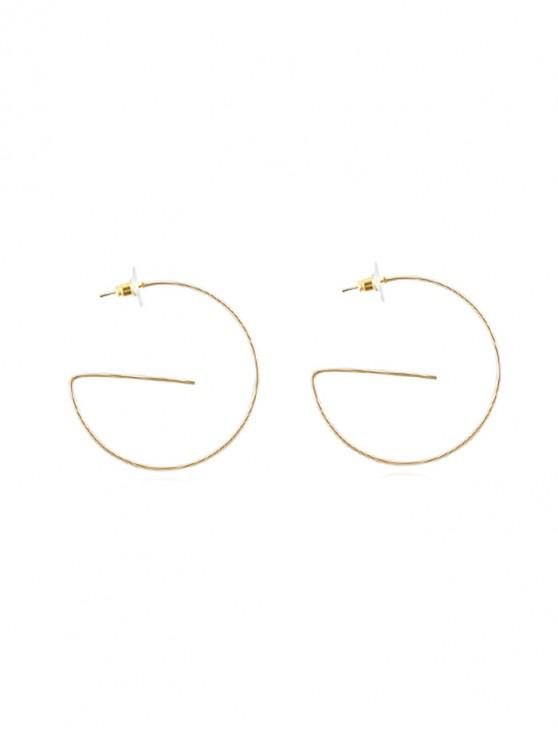 chic Unique Geometric Earrings - GOLD